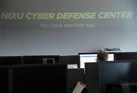 Kyberturvayhtiö Nixu Corporationin toimitiloja Espoossa kuvattuna huhtikuussa 2016.