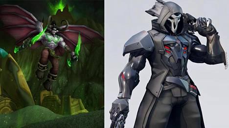 World of Warcraftin klassikkoversio laajenee tänä vuonna Burning Crusade -lisäosaan. Viikonloppuna näytettiin myös, miltä useat suosikkihahmot kuten Reaper näyttävät Overwatch 2:ssa.
