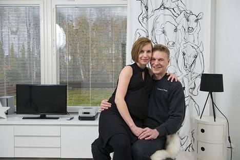 Heidi ja Toni Nieminen arkistokuvassa.