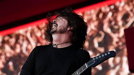 Keikka Helsingissä on 22-vuotiaan Foo Fightersin neljäs esiintyminen Suomessa.