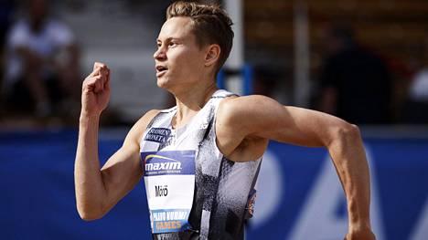 Oskari Mörö palasi pitkästä aikaa kilparadoille.