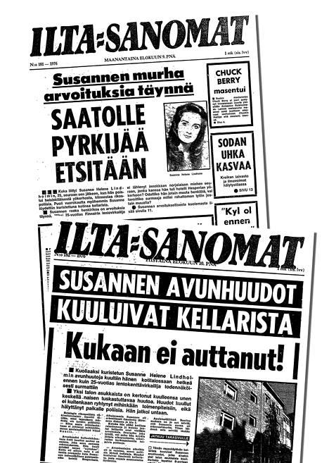Ilta-Sanomat uutisoi tapauksesta elokuussa 1976. Eräs talon asukkaista oli kuullut avunhuutoja aamuyöllä.