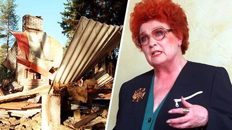 Huumesyyttäjänä työskennellyt Ritva Santavuori sai kokea Suomen alamaailman uhon, sillä esimerkiksi hänen mökkinsä räjäytettiin perusteilleen vuonna 1996.