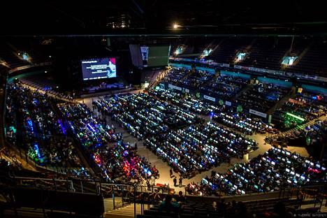 Assembly 2013 -tapahtuma järjestettiin vielä Hartwall Areenalla. Tänä vuonna siirryttiin takaisin Messukeskukseen.