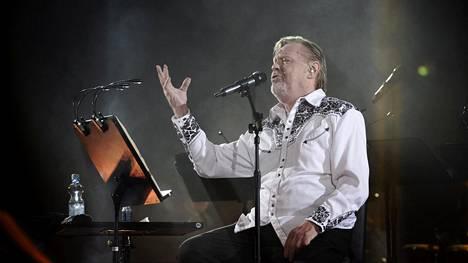 Loiri konsertoi Hartwall Arenalla 3. lokakuuta.