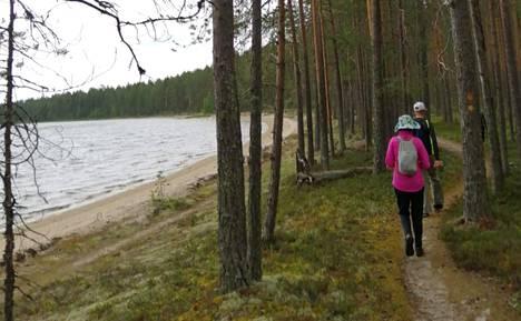 Suomunjärvi sijaitsee Lieksassa.