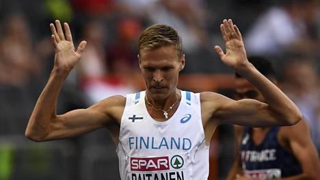 Topi Raitanen ylitti itsensä ja voitti 3 000 metrin estejuoksussa oman alkueränsä.