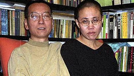 Liu Xiaoboa tai hänen vaimoa Liu Xiaa ei nähdä Oslossa Nobel-gaalassa.