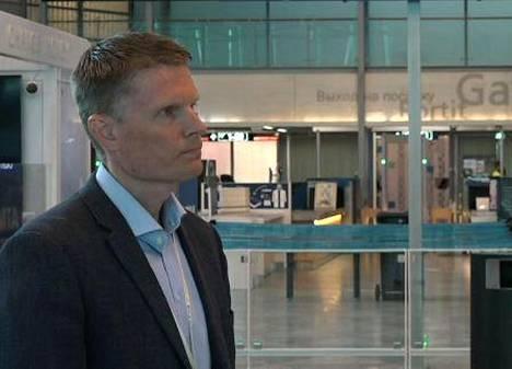 Lentoaseman kehitysjohtaja Sami Kiiskinen.