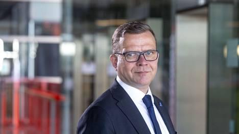 Kokoomuksen puheenjohtaja Petteri Orpo