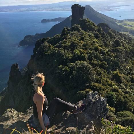 Uudessa-Seelannissa Elli harrasti paljon liikuntaa.