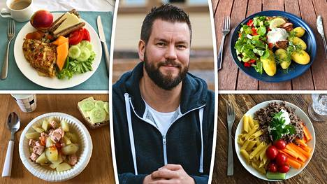 """""""Esimerkiksi minä syön suurimmilta osin ihan normaalia kotiruokaa"""", sanoo hyvinvointivalmentaja Joni Jaakkola."""