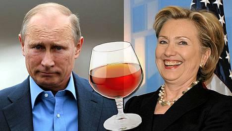 Vladimir Putin antoi Hillary Clintonille lahjaksi konjakkia, mutta lahja oli liian arvokas, että Clinton olisi saanut pitää sen itsellään.
