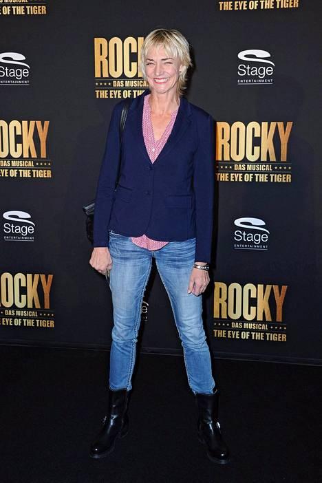 Drechsler maaliskuussa 2015 Rocky-musikaalin ensi-illassa Stuttgartissa.