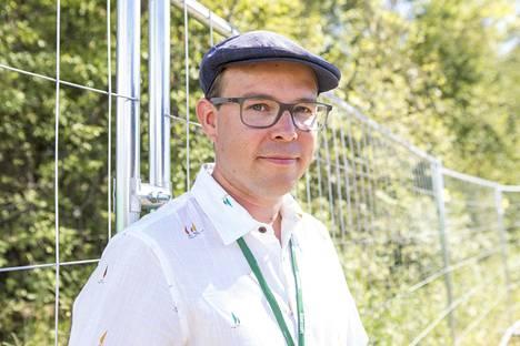 Ruisrockin promoottori Mikko Niemelä.