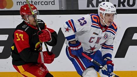 Jokerit ja Pietarin SKA kohtasivat 10. marraskuuta Helsingissä. Joukkueet ovat maanantaina jälleen vastakkain, nyt Pietarissa.