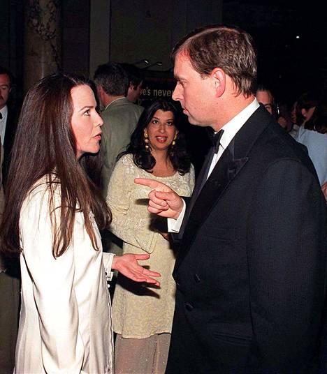 Prinssi Andrew ja Kathleen Stark kuvattuna vuonna 1998.