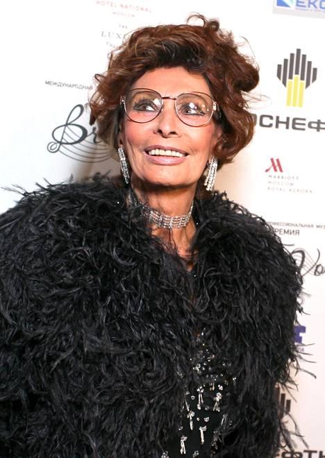 Sophia Loren nyt, 84-vuotiaana.