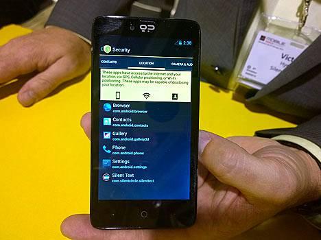 Blackphone. Nimestään huolimatta sillä ei ole paljoa yhteistä Blackberryn kanssa – sanoo Blackberry.
