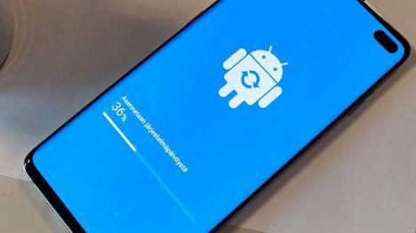 Android päätyi puhelimiin vasta viiveellä.