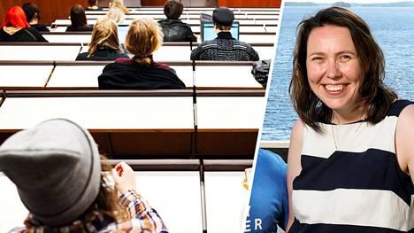 –Opiskelijat ovat meille kullanarvoisia, Sahalahti Resortin Jaana Kuivalainen sanoo.