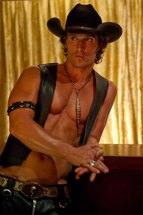 Matthew McConaughey elokuvassa Magic Mike (2012).