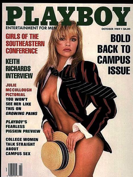 Kaikkien aikojen ensimmäinen Pamela-kansi vuodelta 1989.