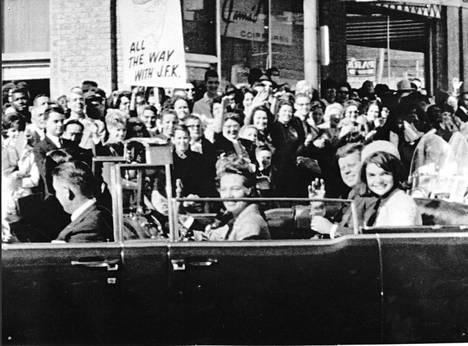 Kennedy John F. Murha Dallasissa marrask. -63