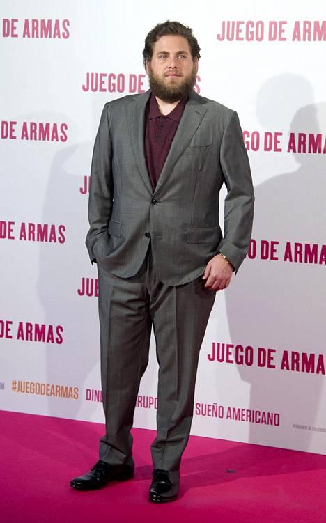 Jonah Hill ei ollut vitsikkäällä tuulella vieraillessaan ranskalaisessa talk show'ssa.