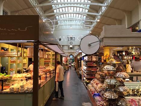 Stuttgartin kauppahalli (Markthalle) on yksi Euroopan vanhimmista ja myös Art Noveau -arkkitehtuurin helmi.
