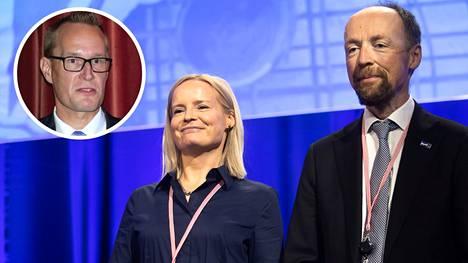 Markku Jokisipilä on kirjoittanut kirjan: Perussuomalaiset Halla-ahon ja Purran linjalla.