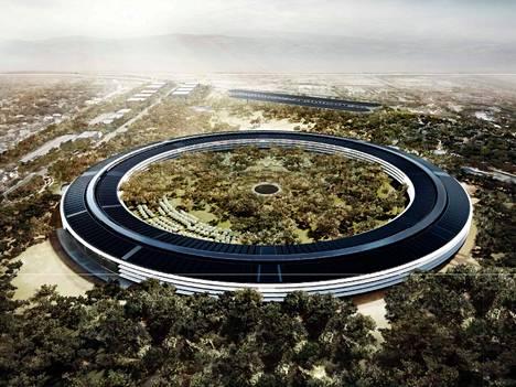 Apple kaataa mobiilialan ylivoimaisesti parhaan tuloksen uuden pääkonttorin miljardihankkeeseen.