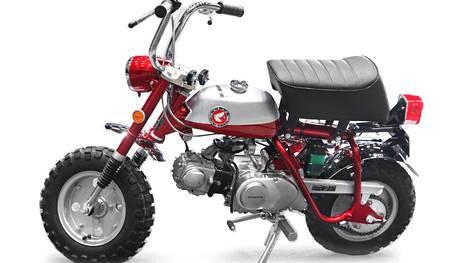 Nelitahtinen Honda Monkey sai teinimopon leiman, mutta vähitellen siitä tuli niin sanottu pappamopo.