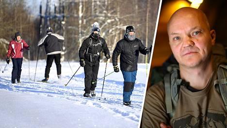 Timo Polari tietää, kuinka pakkasella hiihdetään oikein.