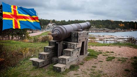Ahvenanmaan demilitarisointi sai alkunsa Oolannin sodasta 1854–56. Bomarsundin linnoituksen rauniot muistuttavat tästä Krimin sodan sivujuonteesta.