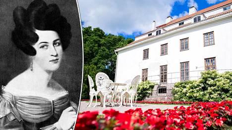 20-vuotias Aurora Stjernvall oli maailmanluokan kaunotar, jota Pushkin ylisti runossaan.