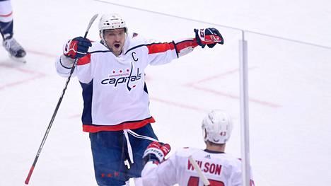 Alexandr Ovetshkin jatkaa uraansa Washington Capitalsissa.