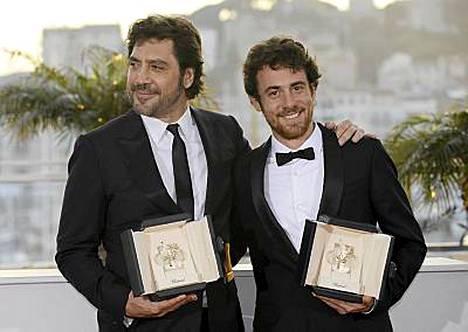 Javier Bardem ja italialainen Elio Germano palkittiin molemmat parhaana miesnäyttelijänä.