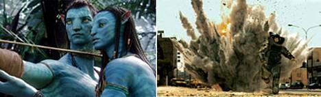 Vahvoja suosikkeja parhaaksi elokuvaksi ovat Avatar ja The Hurt Locker.