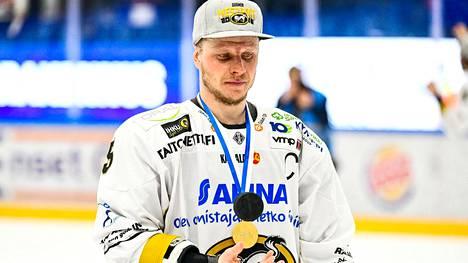 Lasse Kukkonen keväällä 2018.