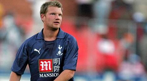 Teemu Tainio on ainoana suomalaisena pelannut Tottenhamissa.