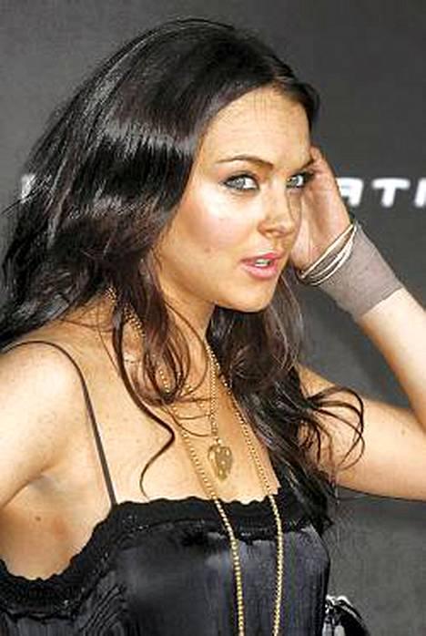 Lindsay Lohanilla ei mene hyvin.