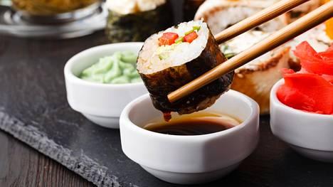 Japanissa lounasbuffetit eivät kuulu ruokailukulttuuriin.