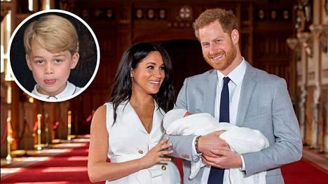 Herttuatar Meghanin ja prinssi Harryn esikoisen nimi Archie Harrison kerrottiin maailmalle keskiviikkona.