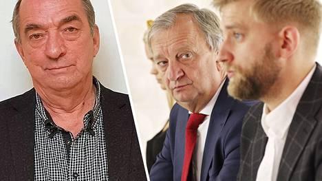 Roy, Harry ja Joel Harkimo ovat kaikki menossa läpi kotikuntiensa valtuustoihin.