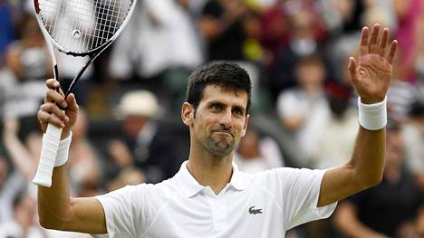 Novak Djokovic päihitti Rafael Nadalin ja otti finaalipaikan Wimbledonissa