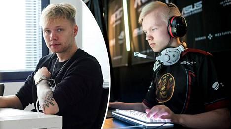 """Miikka """"suNny"""" Kemppi (vasemmalla) on Gorillaz-joukkueen toinen perustaja. Hän sai joukkueeseen houkuteltua mukaan alkuvuodesta armeijaan lähteneen Jere """"sergej"""" Salon."""