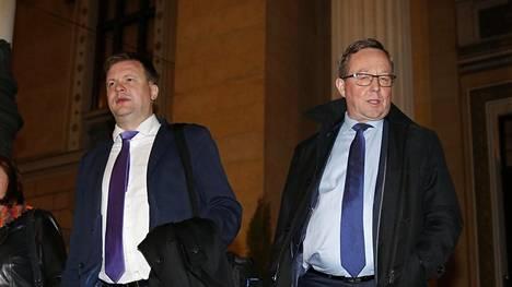 Ministerit Ville Skinnari (sd) ja Mika Lintilä (kesk) lähtevät tapaamaan matkailuyrittäjiä.