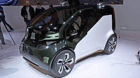 Tilaa Honda NeuVissa on kahdelle matkustajalle ja heidän tavaroilleen.