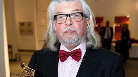 Hannu Seikkula sai Venla-palkinnon elämäntyöstään vuonna 2014.
